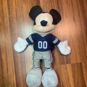 NFL Dallas Cowboys Disney Mickey Mouse Plush
